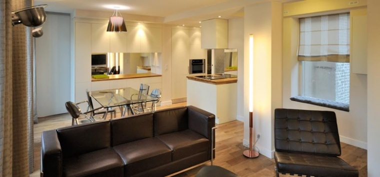 architecture dintrieur et dcoration dintrieur dun appartement 4p 100m2