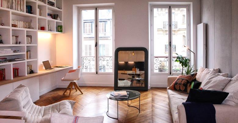 Transformer un studio en appartement lumineux de 2 pièces ...