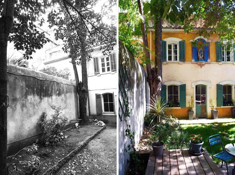 Amenagement D Un Jardin D Une Maison De Ville Par Un Jardinier