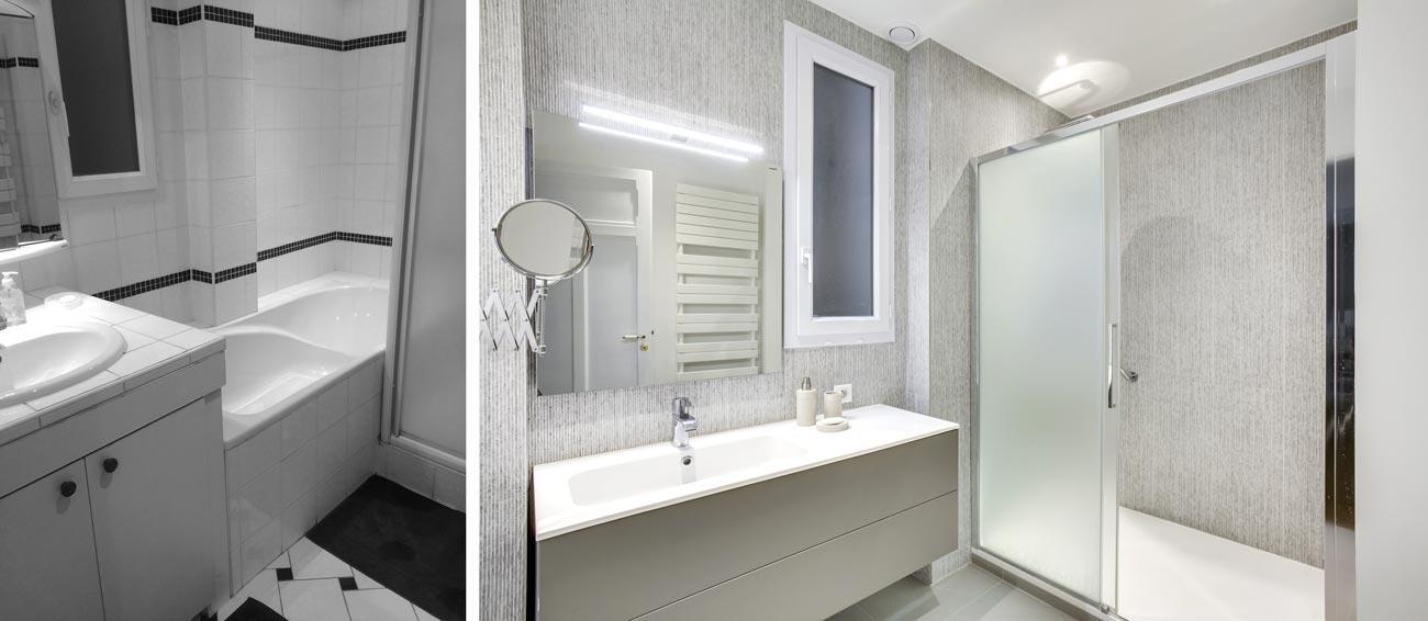 Rénovation appartement Haussmannien 76m² | Lyon