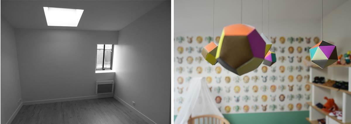 Idées déco pour une chambre d'enfant d'un petit garçon