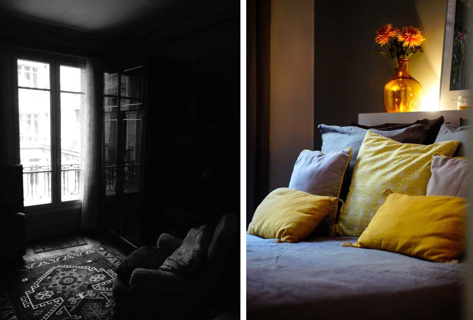 Selection déco dans un appartement dans le 10e arrondissement de Paris