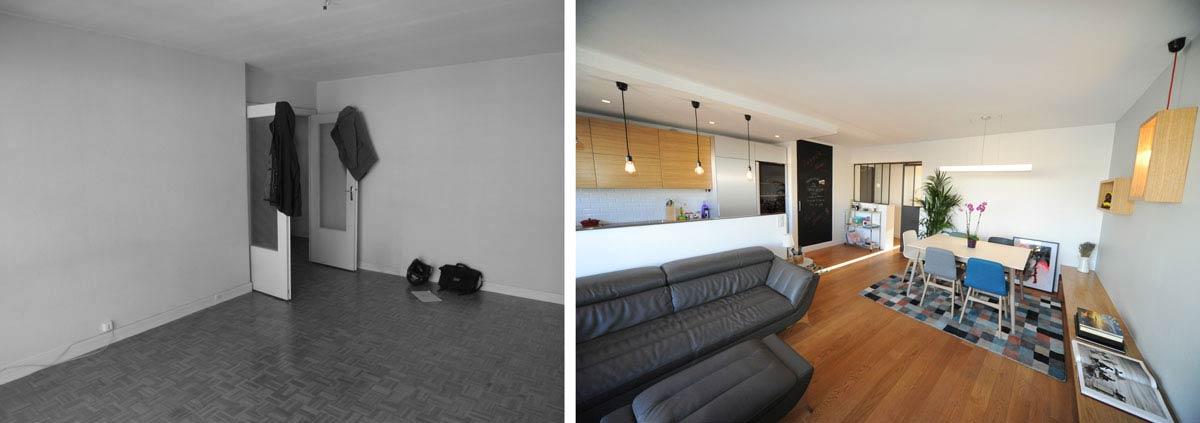 Aménagement d'un séjour design par un décorateur d'intérieur