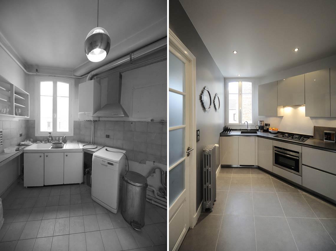 Architecture d'intérieur dans un appartement rregion