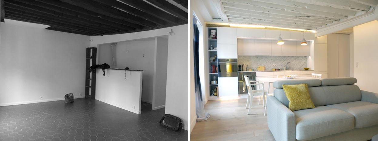 appartement 2 pi ces 42m2 lyon. Black Bedroom Furniture Sets. Home Design Ideas