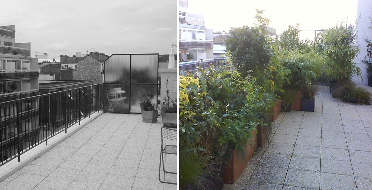 Aménagement d\'une terrasse   Lyon