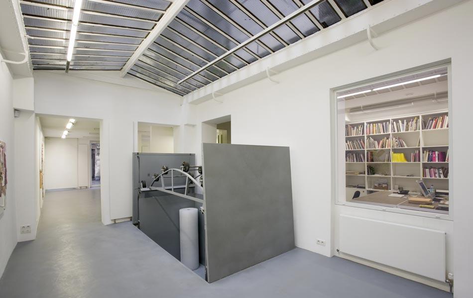 Création d'un monte-charge sur mesure pour une galerie d'art