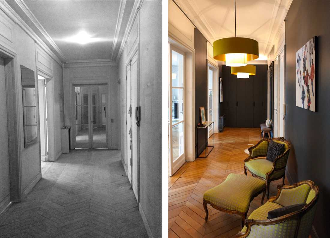 Haussmann apartment Interior Design 230m²