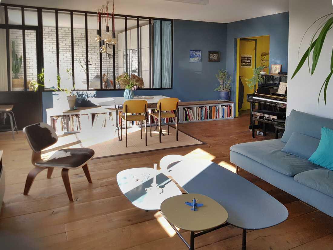 Decoration Interieur Appartement Vintage rénovation d'un appartement des années 60 | créateurs d