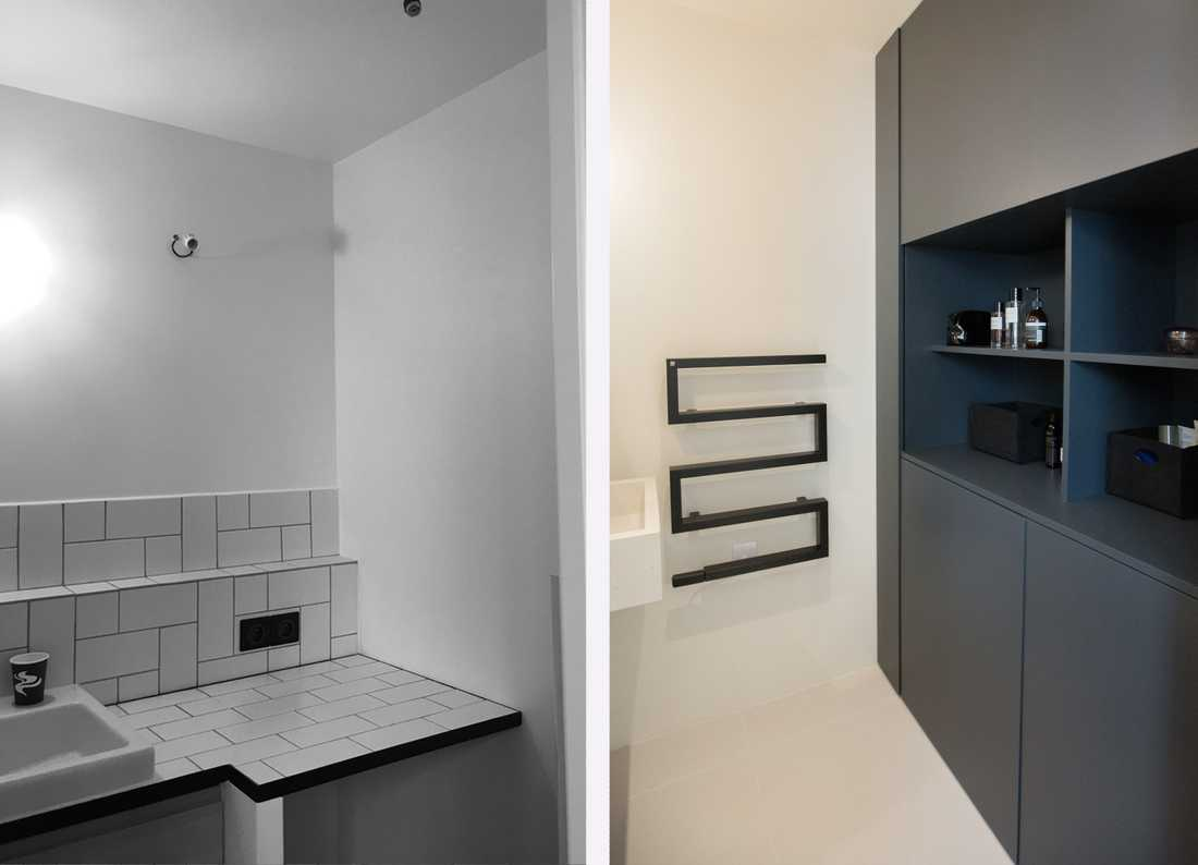 Before After Renovation Of A 47m Apartment