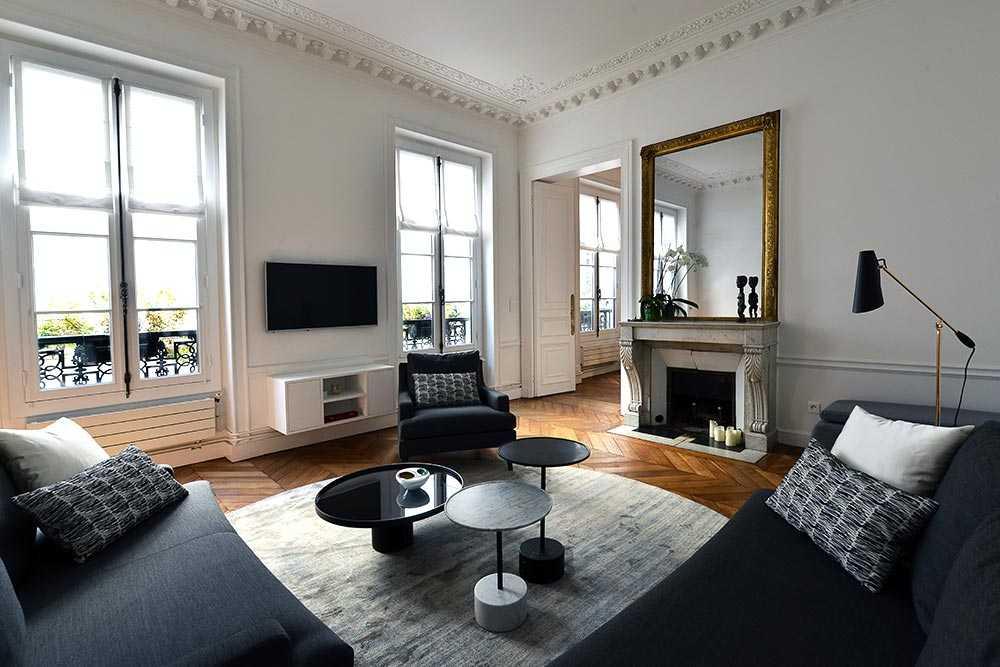 Relooking D Un Appartement Haussmannien 110m Createurs D Interieur